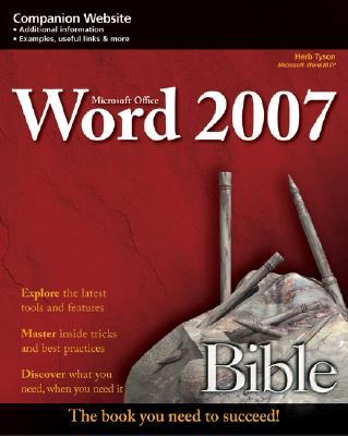 Microsoft Word 2007 Bible - Tyson, Herb