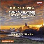 Mikhail Glinka: Piano Variations