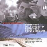 Mikis Theodorakis: Rhapsody for Cello; Rhapsody for Guitar