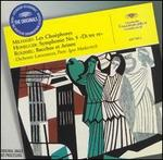 "Milhaud: Les Choéphores; Honegger: Symphonie No. 5 (""Di tre re""); Roussel: Bacchus et Ariane - Claude Nollier (speech/speaker/speaking part); Genevieve Moizan (soprano); Heinz Rehfuss (baritone);..."