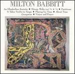 Milton Babbitt: An Elizabethan Sextette