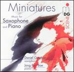Miniatures: Music for Saxophone and Piano