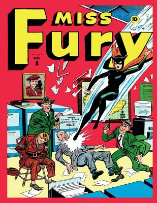 Miss Fury #8 - Publishing Corp, Medalion
