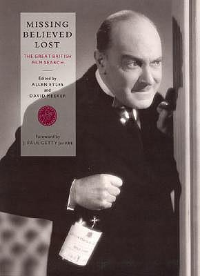 Missing Believed Lost - Eyles, Allen, Professor (Editor)