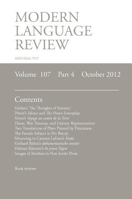Mlr October 2012 - Richardson, Brian (Editor)