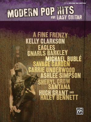 Modern Pop Hits for Easy Guitar: Easy Guitar Tab Edition - Alfred Publishing (Creator)