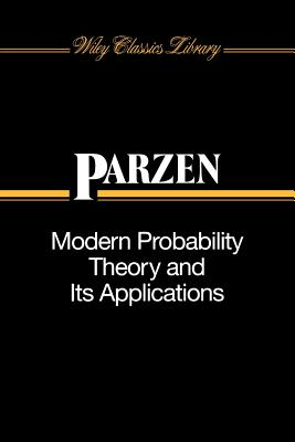Modern Probability Theory and Its Applications - Parzen, Emanuel