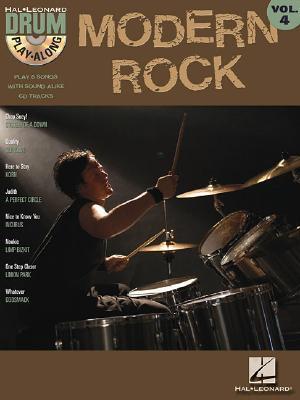 Modern Rock: Drum Play-Along Volume 4 - Hal Leonard Corp