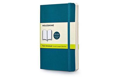 Moleskine Classic Small Plain Notebook: Underwater Blue - Moleskine