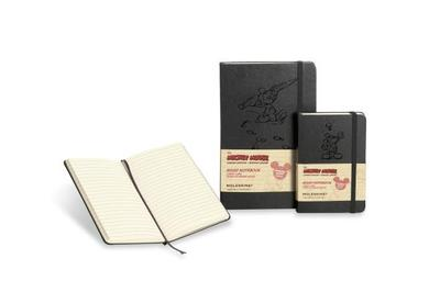 Moleskine Mickey Mouse Limited Edition Notebook, Large, Ruled, Black, Hard Cover (5 X 8.25) - Moleskine