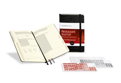Moleskine Passion Journal - Restaurant, Large, Hard Cover (5 X 8.25): Dining Out Experiences - Moleskine