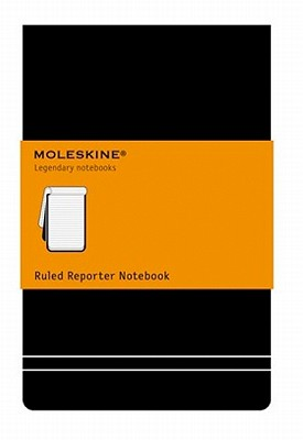 Moleskine Ruled Reporter Notebook - Moleskine