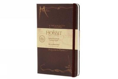 Moleskine the Hobbit Limited Edition Notebook, Large, Ruled, Burgundy, Hard Cover (5 X 8.25) - Moleskine