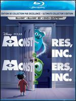 Monsters, Inc. [Bilingual] [3D] [Blu-ray/DVD]