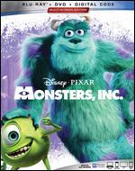 Monsters, Inc. [Includes Digital Copy] [Blu-ray/DVD]