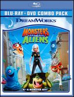 Monsters vs. Aliens [2 Discs] [Blu-ray/DVD] - Conrad Vernon; Rob Letterman