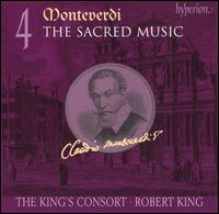 Monteverdi: The Sacred Music, Vol. 4 - Carolyn Sampson (soprano); Cecilia Osmond (soprano); Charles Daniels (tenor); Daniel Auchincloss (high tenor vocal);...
