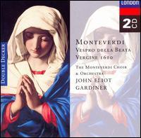 Monteverdi: Vespro della Beata Vergine 1610 - Alastair Ross (organ); Charles Brett (counter tenor); David Monrow Recorder Ensemble; Felicity Palmer (soprano);...
