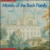 Motets of the Bach Family - Angharad Gruffydd Jones (vocals); Anthony Geraghty (vocals); Chris Dixon (vocals); Edward Price (vocals);...
