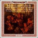 Mozart: Clarinet Quintet; Horn Quintet; Oboe Quartet