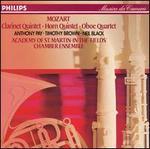 Mozart: Clarinet Quintet; Horn Quintet; Oboe Quintet