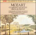 Mozart: Clarinet Quintet; Oboe Quartet - Andrew Marriner (clarinet); Chilingirian Quartet; Gordon Hunt (oboe)