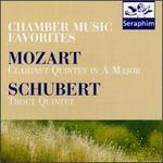 Mozart: Clarinet Quintet; Schubert: Trout Quintet; Adagio & Rondo