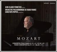 Mozart: Concertos pour Piano No. 21, No. 24 - Jean-Claude Pennetier (piano); Radio France Orchestre Philharmonique; Christoph Poppen (conductor)