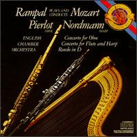 Mozart: Concertro for Flute; Concerto for Oboe; Rondo for Flute - English Chamber Orchestra (chamber ensemble); Jean-Pierre Rampal (flute); Marielle Nordmann (harp); Pierre Pierlot (oboe)
