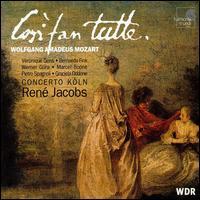 Mozart: Così fan tutte - Bernarda Fink (soprano); Marcel Boone (baritone); Pietro Spagnoli (baritone); Véronique Gens (soprano); Werner Güra (tenor);...