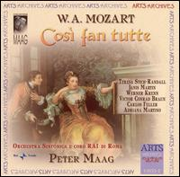 Mozart: Così fan tutte - Adriana Martino (vocals); Carlos Feller (vocals); Janis Martin (vocals); Teresa Stich-Randall (vocals);...