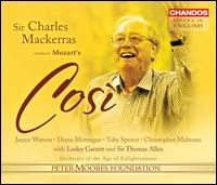 Mozart: Cos� fan tutte - Christopher Maltman (baritone); David Watkin (cello); Diana Montague (mezzo-soprano); Janice Watson (soprano);...