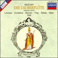 Mozart: Die Zauberflöte [Highlights] [1969 Recording] - Cristina Deutekom (soprano); Pilar Lorengar (soprano); Renate Holm (soprano); Stuart Burrows (tenor); Yvonne Minton (vocals);...
