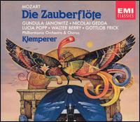 Mozart: Die Zauberflöte - Agnes Giebel (vocals); Anna Reynolds (vocals); Christa Ludwig (vocals); Elisabeth Schwarzkopf (vocals); Franz Crass (vocals);...