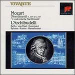 Mozart: Divertimenti K. 334 & K. 247