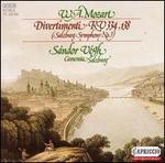 Mozart: Divertimenti, KV 334, 138; Salzburg Symphony No. 3