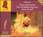 Mozart: Don Giovanni; Die Entf�hrung aus dem Serail