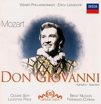 Mozart: Don Giovanni (Highlights) - Arnold van Mill (vocals); Birgit Nilsson (vocals); Cesare Siepi (vocals); Cesare Valletti (vocals); Eugenia Ratti (vocals);...