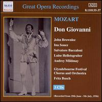 Mozart: Don Giovanni - Audrey Mildmay (vocals); David Franklin (vocals); Elisabeth Rethberg (vocals); Elisabeth Schumann (vocals);...