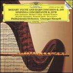 Mozart: Flute and Harp Concerto K. 299; Sinfonia Concertante K. 297b