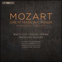Mozart: Great Mass in C minor; Exultate, Jubilate - Carolyn Sampson (soprano); Makoto Sakurada (tenor); Olivia Vermeulen (mezzo-soprano); Bach Collegium Japan (choir, chorus);...