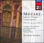 Mozart: Great Piano Concertos Nos. 16, 24, 25, 26 & 27