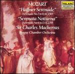 Mozart: Haffner Serenade; Serenata Notturna