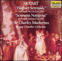 Mozart: Haffner Serenade; Serenata Notturna - Milan Kohout (violin); Oldrich Vlcek (violin); Svatopluk Vohanka (double bass); Zdenek Zindel (viola);...