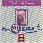 Mozart: Horn Concertos 1-4
