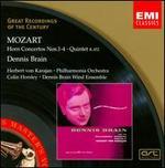 Mozart: Horn Concertos Nos. 1-4; Quintet, K. 452