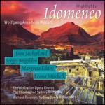 Mozart: Idomeneo [Highlights] - Clifford Grant (vocals); Graeme Macfarlane (vocals); Henri Wilden (tenor); Joan Sutherland (soprano); Judith Saliba (vocals);...