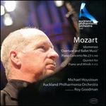 "Mozart: Idomeneo ""Overture"" and ""Ballet Music""; Piano Concerto No. 23; Quintet for Piano and Winds"