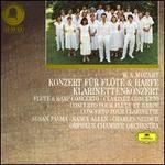 Mozart: Konzert für Flöte & Harfe; Klarinettenkonzert