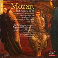 Mozart: Last Masonic Works - Franz Ellmar (soprano); Irmgard Seefried (soprano); Jennie Tourel (alto); Kurt Equiluz (tenor); Kurt Rapf (keyboards);...